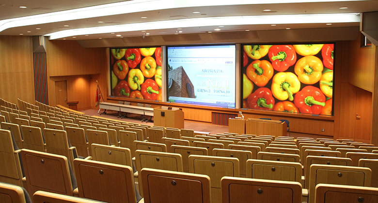 大阪学院大学 02-B1-01・02・03・04教室