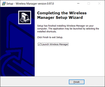 Wireless Manager インストーラー