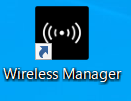 Wireless Managerのショートカット