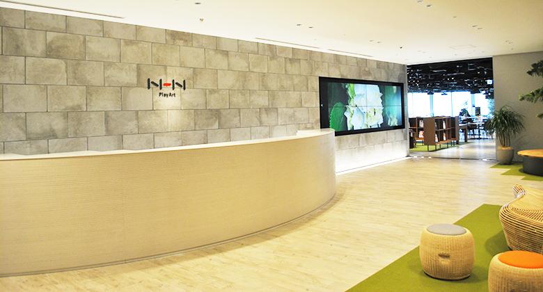 NHN PlayArt 株式会社 新オフィス計画